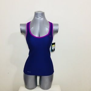 Nike NWT workout tank royal blue size S